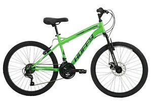 Huffy 24-inch Nighthawk Boys' Mountain Bike for Men Neon Green New Free Shipping