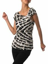 Women's Animal Print Polyester Semi Fitted Party Tops & Shirts