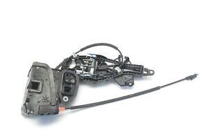 2016 Chevy Impala lock and handle base left rear F Latch OEM 13528272 13506468