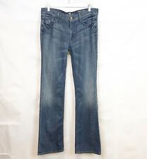7 for All Mankind High Waist Bootcut Crystals Jeans sz 32