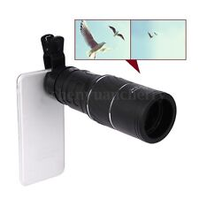 16×Zoom Optical Telescope Magnifier Phone Camera Clip-on Lens For Mobile Phone
