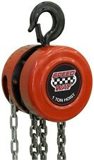 1 Ton Manual Chain Hoist Engine Block Lift 2,000 Capacity Free Shipping New