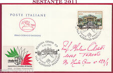 ITALIA FDC CAVALLINO VILLE VILLA ALDROVANDI MAZZACORATI 1985 TORINO Y892