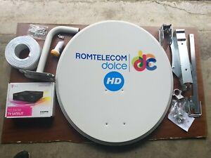 Decoder TELEKOM HD (canale tv Romania) + Kit Antena