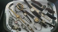 LOT  WATCH COLLECTION  AND REPAIR KIT