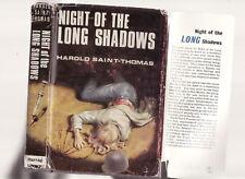 HAROLD SAINT-THOMAS - NIGHT OF THE LONG SHADOWS set in Australia  1967