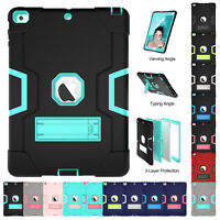 """For Apple iPad Pro 9.7"""" 234/56 Mini Armor Shockproof Protect Stand Case Cover US"""