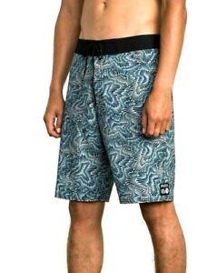 "RVCA Halston 20"" Stretch Board Shorts - Boardies. Size 32. NWT, RRP $69.99."