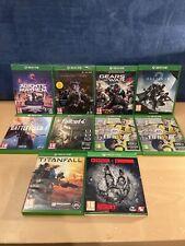 Xbox One Sport Spielepaket 8 Spiele (5 noch versiegelt) alle in gutem Zustand
