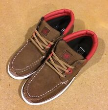 DVS Hunt Size 8 Bison Brown Suede BMX DC Boat Skate Chukka Deck Shoes $78