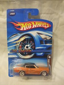 Hot Wheels ~ 2006 Mystery Car ~ '70 Chevelle ~ Real Riders ~ Metal/Metal