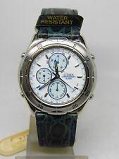 """montre chronographe alarm """"CITIZEN"""" mouvement quartz neuve de stock"""