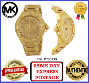 Michael Kors MK5720 Camille Gold and Crystal Womens Wrist Watch
