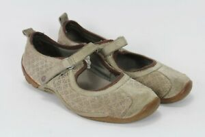 Merrell Circuit Mary Jane Womens Size 7.5 Brown Casual Shoes Strap Closure