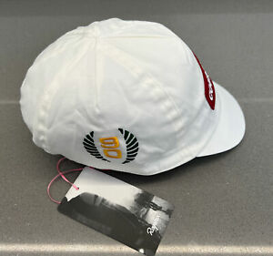 Rapha Special Edition Coureur Cap White Red Brand New With Tag One Size
