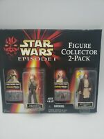 Star Wars Episode 1 Talking Figure Collector 2-pack. Jar Jar Binks, Qui-Gon Jinn