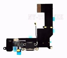 Black USB Dock MIC Charging Port Flex Cable Replacement Part for iPhone SE A1662