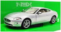 Welly NEX 1/24 Scale Model Car 141280 - Jaguar XK Coupe - Silver