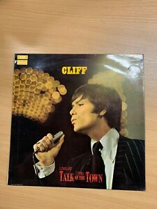 "1970 CLIFF RICHARD ""CLIFF LIVE AT THE TALK OF THE TOWN"" VINYL RECORD LP"