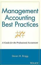Management Accounting Best Practices: A Guide for the Professional-ExLibrary