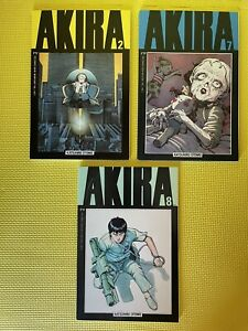 Akira Epic Comics Lot 2, 7, 8 Katsuhiro Otomo