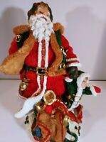 "Santa Claus Christmas 10"" fiquire"