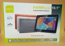 "Hannspree Hannspad 10.1"" Android Tablet HSG1279 -Black (with original box)"
