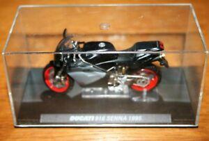 DUCATI 916 SENNA 1995 1:24 IXO Motorbike - Rare