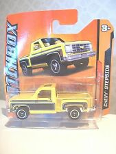 MATCHBOX yellow CHEVY STEPSIDE MBX Classique 6/10 NEW - Classic truck/ car