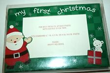 New Nib Set 10 Carters My First Christmas Baby Photo Cards w Envelopes Holidays