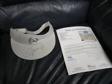 Michael Jordan Autographed Hat Visor JSA Certified