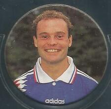 PANINI CAPS 1996-SNICKERS-EURO 96- #46-FRANCE-GUERIN