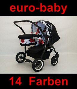 Freestyle4Two Zwillingskinderwagen Geschwisterwagen Kombikinderwagen Kinderwagen