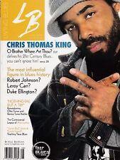 LIVING BLUES MAGAZINE NUMBER 168 JUNE-AUG 2003 CHRIS THOMAS KING ALAN LOMAX