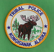 KONGIGANAK ALASKA TRIBAL POLICE SHOULDER PATCH