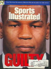 1992 Sports Illustrated: Mike Tyson - Guilty of Rape - Boxing