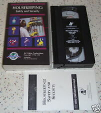 Hospitality Industry VHS Housekeeping Safety & Security