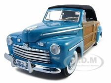 1946 FORD SPORTSMAN WOODY W/LEATHER & WOOD GREEN 1/18 ROAD SIGNATURE 20048