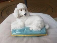 Beswick Poodle On Cushion
