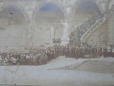 LOURDES 1914  PHOTOGRAPHIE CLICHE sépia  VIRON souvenir PELERINAGE n°140