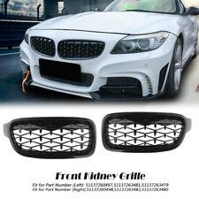 Front Kidney Diamond Grille Grill For BMW F30 F31 320i 328i 330i 335i 2014-2018
