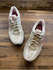 Womens Nike Shox Turbo VII White & Pink Running Shoes Sz 8.5