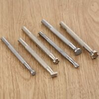 1/6Pcs Print Embossing Tools For Leather Craft Punch Stamping Carving Leather