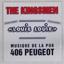Peugeot 406 CD The Kingsmen Louie Louie 1995