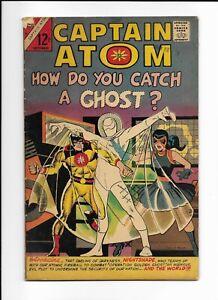CAPTAIN ATOM #82 GD+ 1st app Nightshade Steve Ditko Charlton 1966 KEY