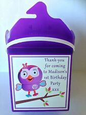 Hootabelle Birthday Party Boxes Treat Favours Lolly Lollie Bags Loots Supplies