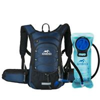 RUPUMPACK Insulated Hydration Backpack Pack BPA Free 2L Water Bladder 15L Nylon
