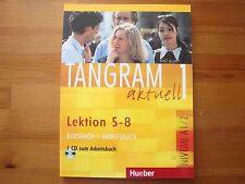Hueber Tangram aktuell 1 – Lektion 5–8, Kurs-/Arbeitsbuch mit Audio-CD, A1/2
