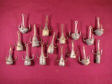 Lot of Vintage Snag Hooks Weighted Treble Hooks Fish Snagging