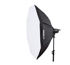 StudioPRO 68 Inch Octagon Softbox Photography Light Diffuser & Modifier with Bow